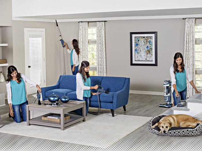 All the ways you can use the Hoover REACT Professional Pet Plus Bagless Upright Vacuum