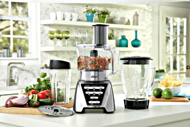 3-in-1 Oster Pro Blender in use