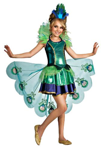for the girls you can snag this peacock costume for just regularly with free super saver shipping