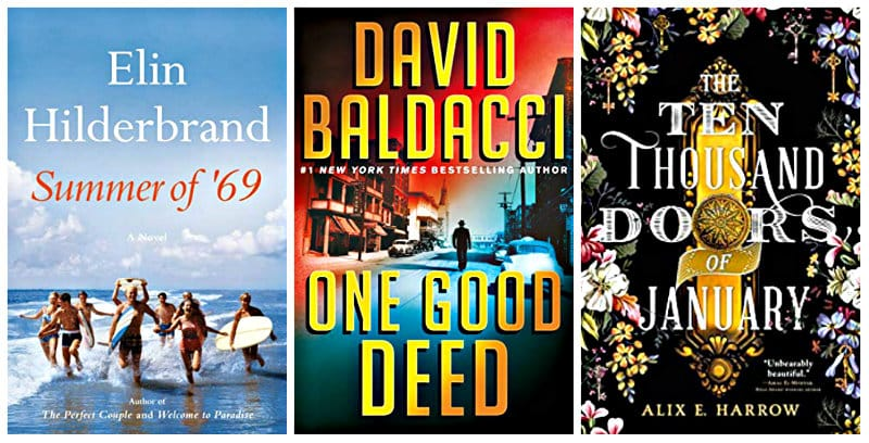 The Ten Thousand Doors of January, One Good Deed, and Summer of '69 Kindle books