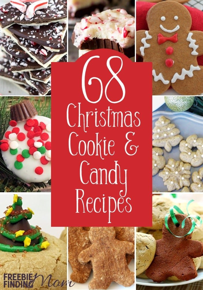 68 christmas cookie and candy recipes for Simple christmas cookie and candy recipes