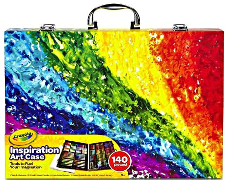 140-Piece Crayola Inspiration Art Case