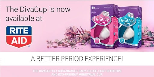 save $5 on DivaCup® products when you buy ONE (1) DivaCup® Model 1 OR Model 2 at Rite Aid