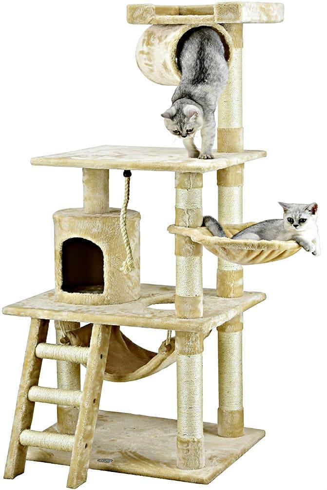 62-Inch High Go Pet Club Cat Tree Furniture