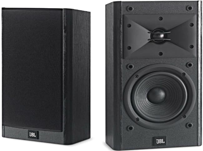 JBL Arena Black Bookshelf & Surround Speaker