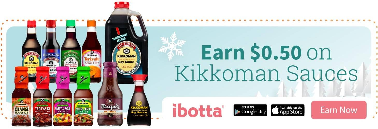 Earn $.50 on Kikkoman® Soy Sauce