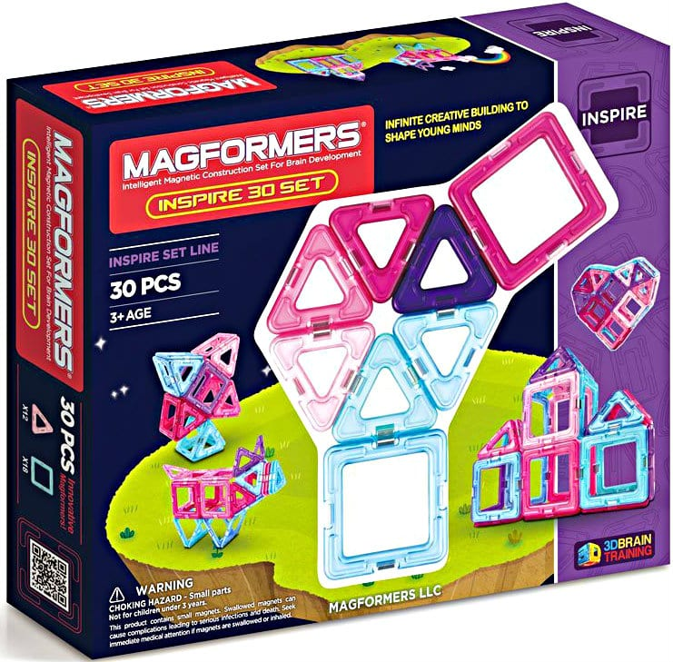 30-Piece Magformers Inspire Set