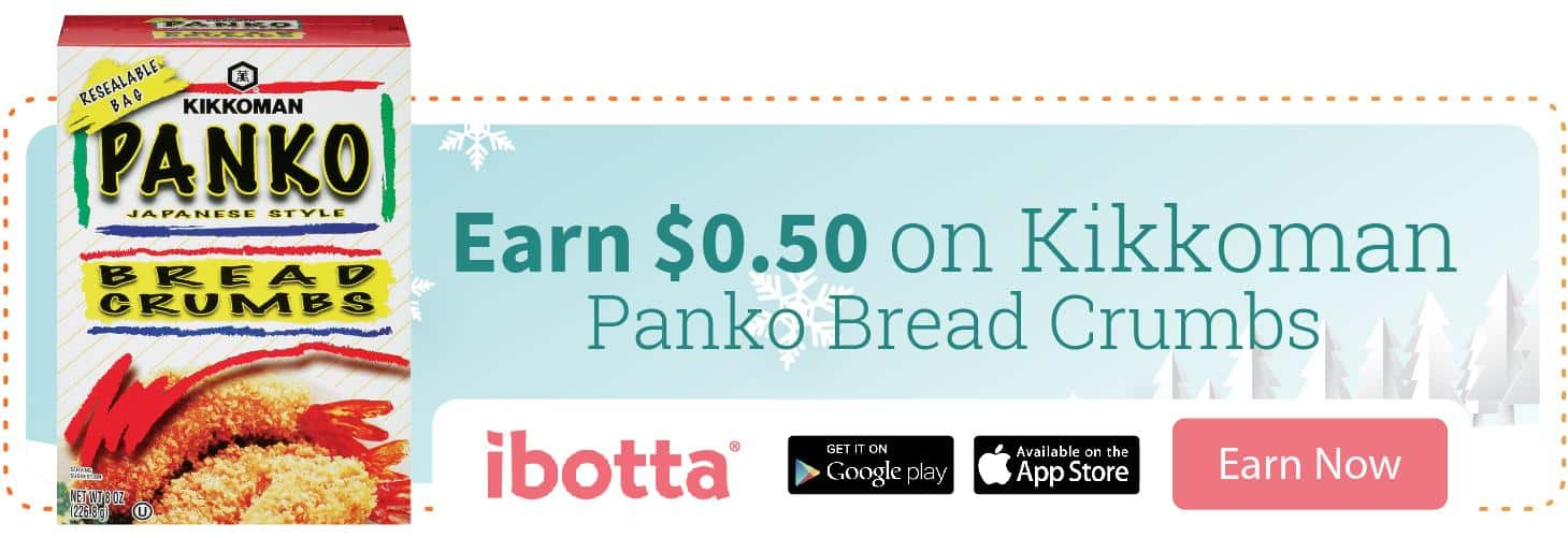 Earn $.50 on Kikkoman® Panko Bread Crumbs