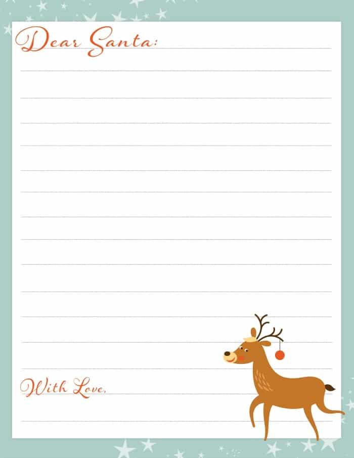 Printable Santa Letters