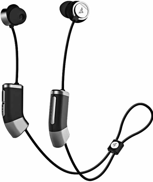 Zipbuds Bluetooth Wireless Custom Fit In-Ear Headphones