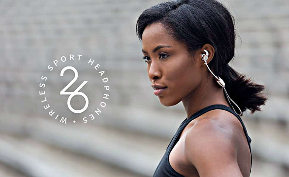Zipbuds Bluetooth Wireless Custom Fit In-Ear Headphones in use