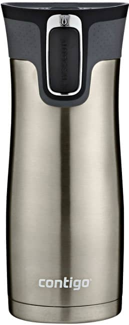 16-Ounce Contigo AUTOSEAL West Loop Vacuum Insulated Stainless Steel Travel Mug