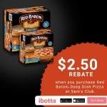 Sam's Club: Buy Red Baron® Deep Dish Single Serve Pizzas, Get $2.50 Rebate (Ibotta Offer)