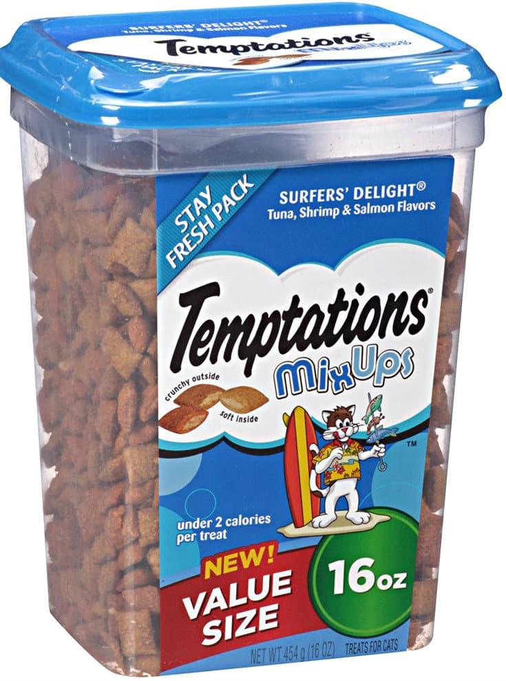 16-Ounce TEMPTATIONS Mixup Holiday Treats for Cats