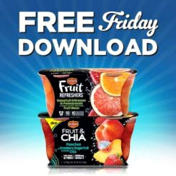 Copps FREE Friday Download for FREE Del Monte Refresher or Fruit & Chia