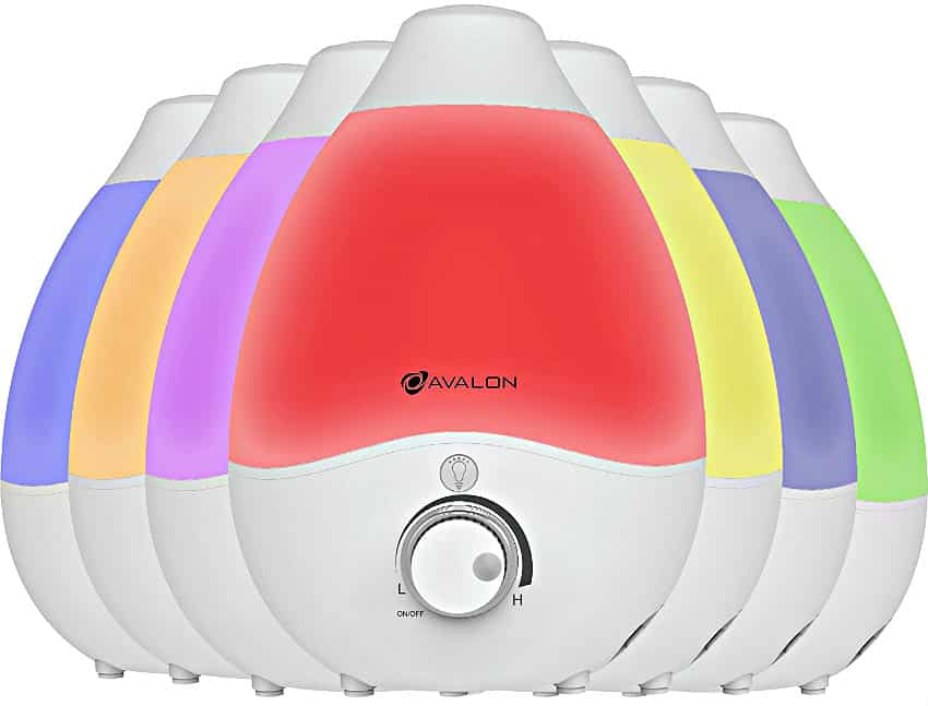 Avalon Premium Cool Mist Humidifier in multiple colors