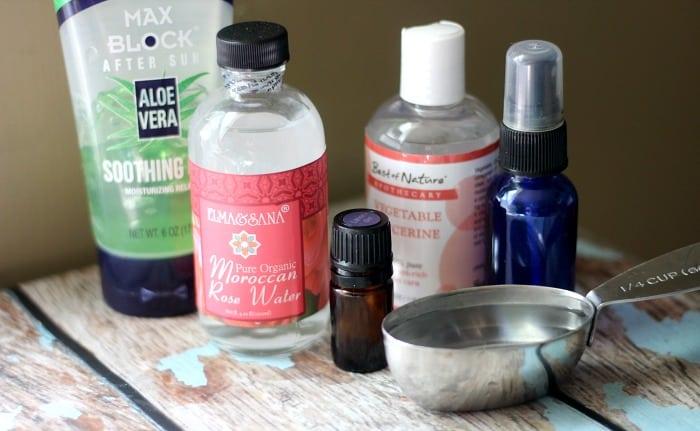 DIY setting spray ingredients