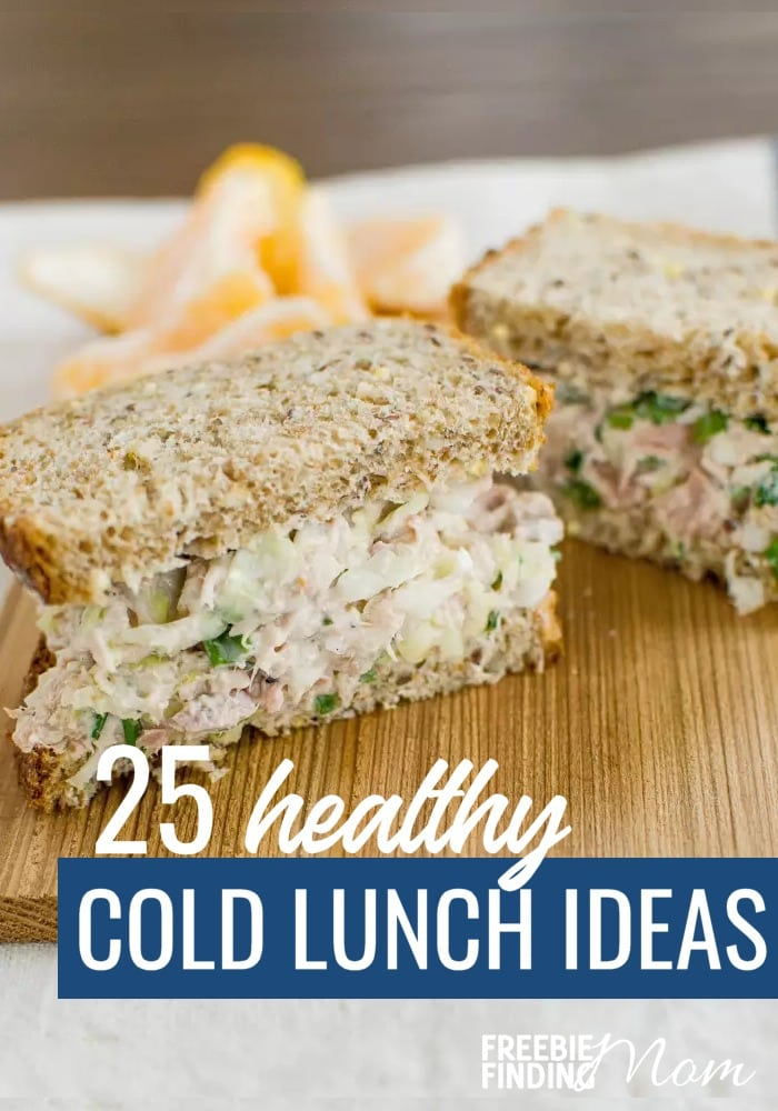 Do you need delicious and healthy cold lunch ideas that are perfect for work, a picnic, or just to grab and go? Here you'll find easy to make healthy cold lunches that are packed with nutrients and flavor. Be inspired by these delicious sandwiches, burritos, salads and more. #healthycoldlunches #healthycoldlunchideas #healthycoldlunchesforwork #healthycoldlunchesforadults