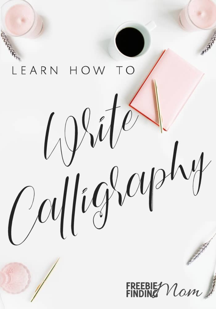 Would you like to learn how to write calligraphy? First, decide what type of calligraphy you want to learn (real or faux). Faux calligraphy is a modern calligraphy method that is a great place for beginners to start. You'll just need to get the proper tools which includes these free printable calligraphy alphabet letters then you'll be on your way to learning how to write in calligraphy. #calligraphy #learncalligraphy #moderncalligraphy #fauxcalligraphy #calligraphyforbeginners #realcalligraphy
