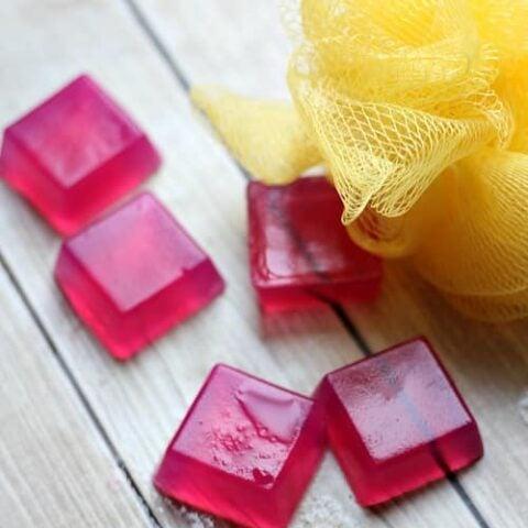 Homemade Shower Jellies Recipe