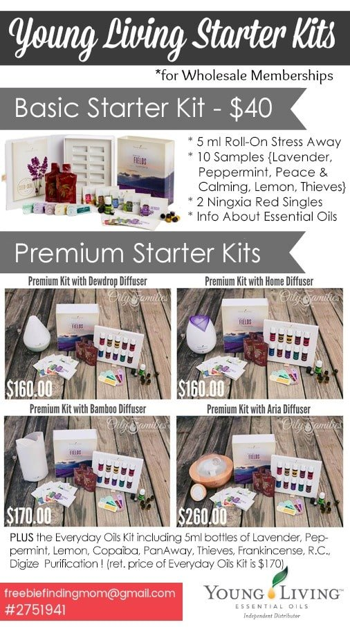 Young Living essential oils wholesale