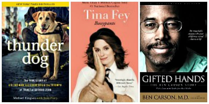select Biographies and Memoirs on Kindle for just $3.99 or less