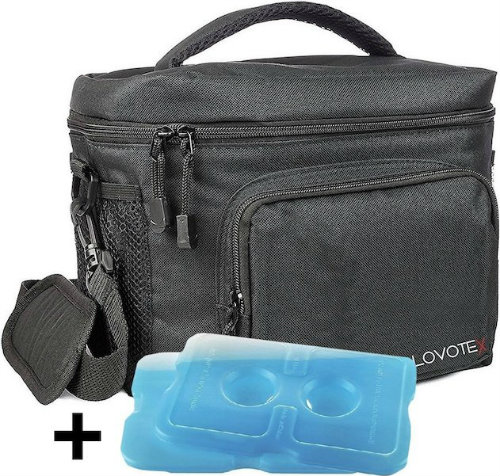 Insulated lunch box containers