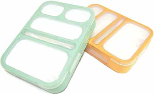 Leakproof Bento Lunch Box Set With 5 Compartments
