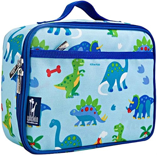 Olive kids lunch boxes with dinosaurs