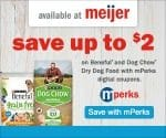 Meijer: Save Up to $2 on Beneful and Dog Chow Dry Dog Food with mPerks (Through March 3rd)