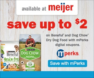 Save Up to $2 on Beneful and Dog Chow Dry Dog Food with mPerks