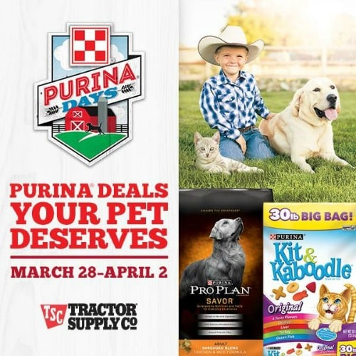 Purina Days graphic