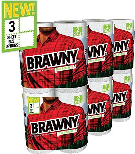 12-Count Brawny Paper Towels