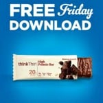 Kroger FREE Friday Download: FREE thinkThin Bar (Today Only)
