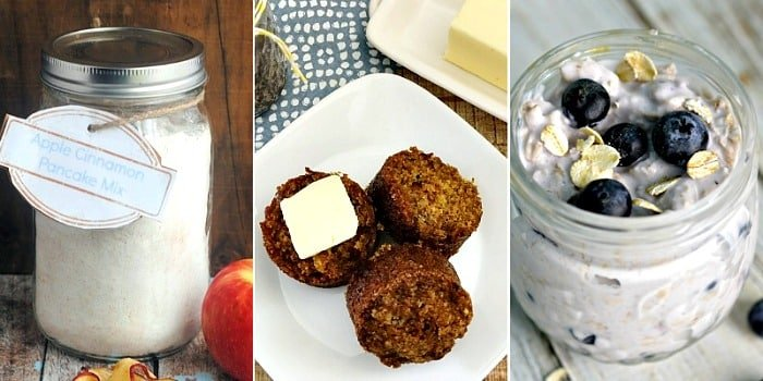 Mason jar breakfast recipes