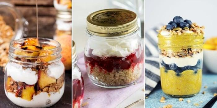 oatmeal breakfast jars