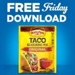 Food 4 Less FREE Friday Download: FREE Old El Paso Seasoning Mix (April 27 Only)