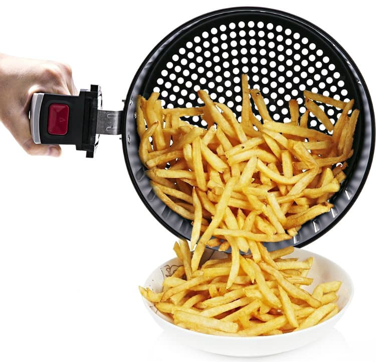 Blusmart Electric Air Fryer in use
