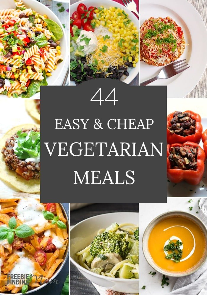 Do you need new cheap vegetarian meals? Easy as one, two, three you can whip up many of these meals in minutes. Here you'll find pasta vegetarian meals, vegetarian soup recipes, and more. There's no need to be intimated to cook vegetarian recipes. You can consider these vegetarian meals for beginners, but the taste is still incredibly delicious. #vegetarianrecipes #vegetarianmeals #vegetarianrecipeshealthy #vegetarianmealprep #vegetarianrecipesdinner