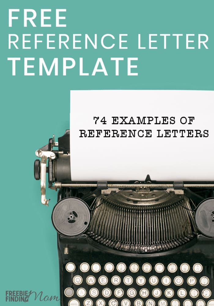 Have you been asked to write a reference letter for someone? No worries check out these 74 examples of free reference letter templates to download. Here you'll find templates for a character reference letter to judge, character reference letter adoption, and many more examples of reference letters. Download your favorites today! #referencephotos #referenceletter #templates #templatesprintablefree