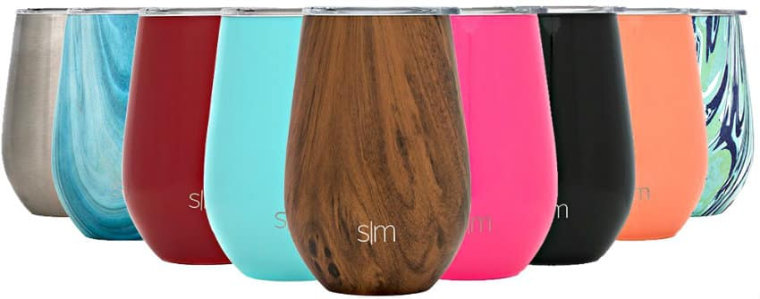 Simple Modern Spirit Wine Tumbler colors