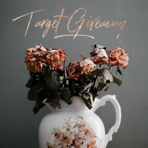Target giveaway graphic