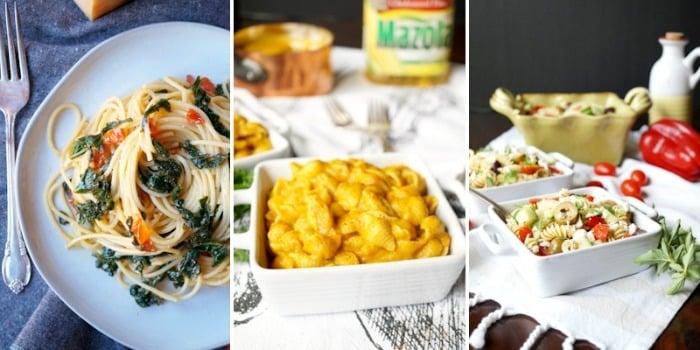 pasta vegetarian meals easy