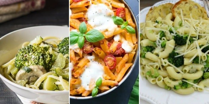 pasta vegetarian meals for beginners