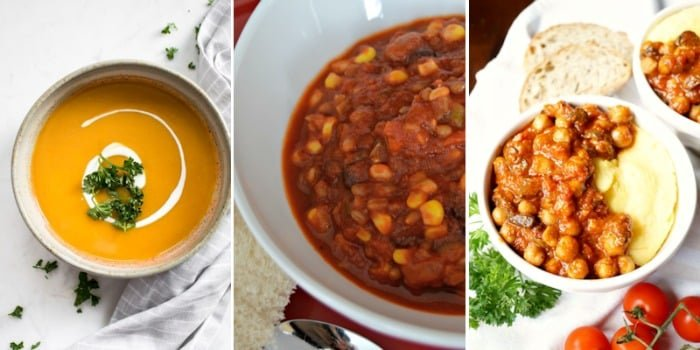 soup vegetarian meal recipes