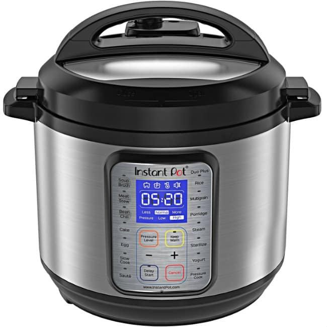 Instant Pot Duo Plus 9-in-1 Multi-Use Programmable Pressure Cooker