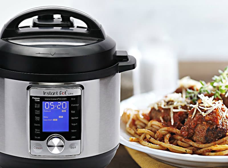 Instant Pot Ultra 3 Qt 10-in-1 Multi-Use Programmable Pressure Cooker in home