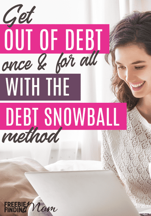 """Are you trying to get out of debt? Debt payoff can be a frustrating and confusing experience, but to add clarity you may want to check out Dave Ramsey's Debt Snowball approach. Here you'll learn how to answer the question """"How do you snowball debt?"""" and you can view a debt reduction spreadsheet snowball example. Good luck becoming debt free! #debtpayoff #debtfree #debtsnowball #debtsnowballworksheet"""
