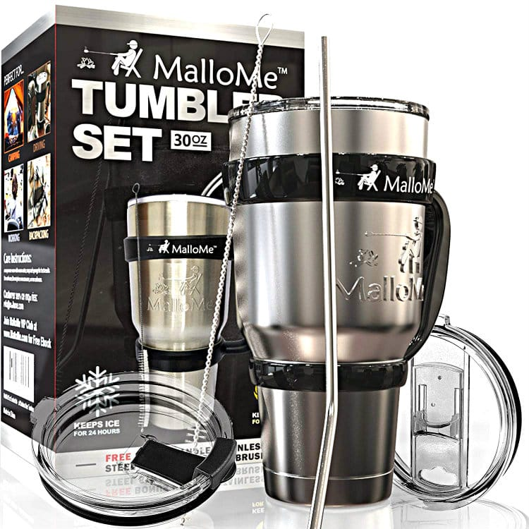 MalloMe Stainless Steel Tumbler Set