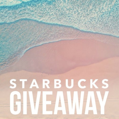 Starbucks Giveaway promo
